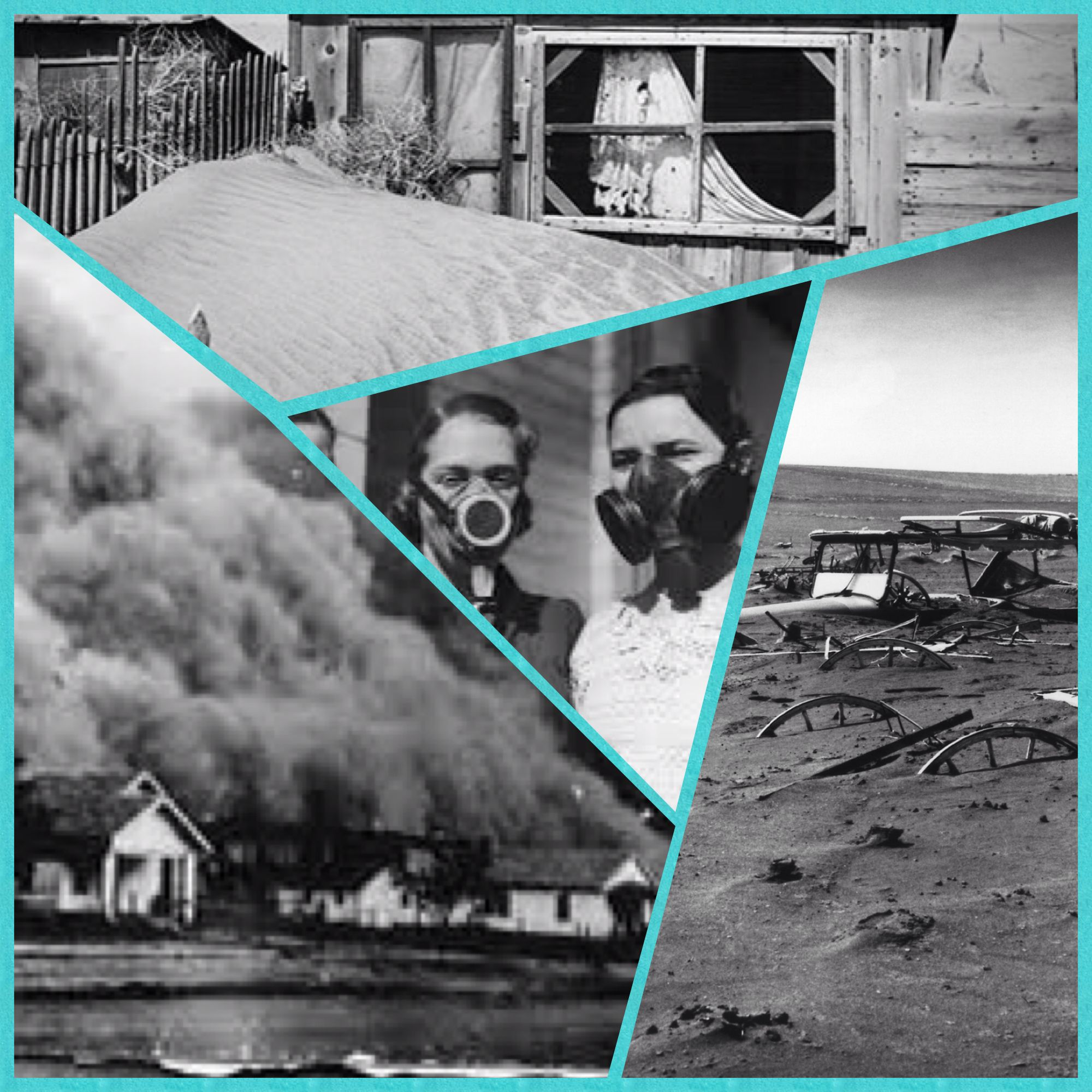 The Dust Bowl was the name given to an area of the Great