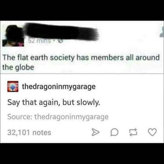 All around the world? | Flat earth