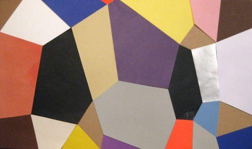 Camilla Bendix - paper collage