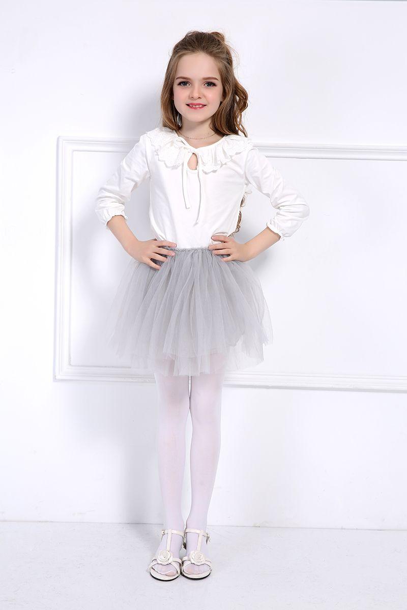 f01b7db698 Cool 2 Pcs Free Headband Baby Girls Tutu Skirt Kids 4 Layer Fluffy Soft  Tulle Pettiskirt Skirt For Girls Children Clothes 8 Colors - $18.3 - Buy it  Now!