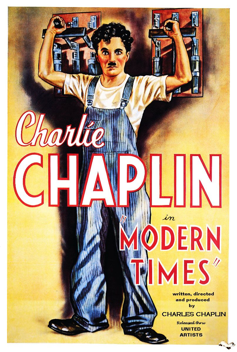 Modern Times 1936 Film Movie Cinema Posters Posteres De