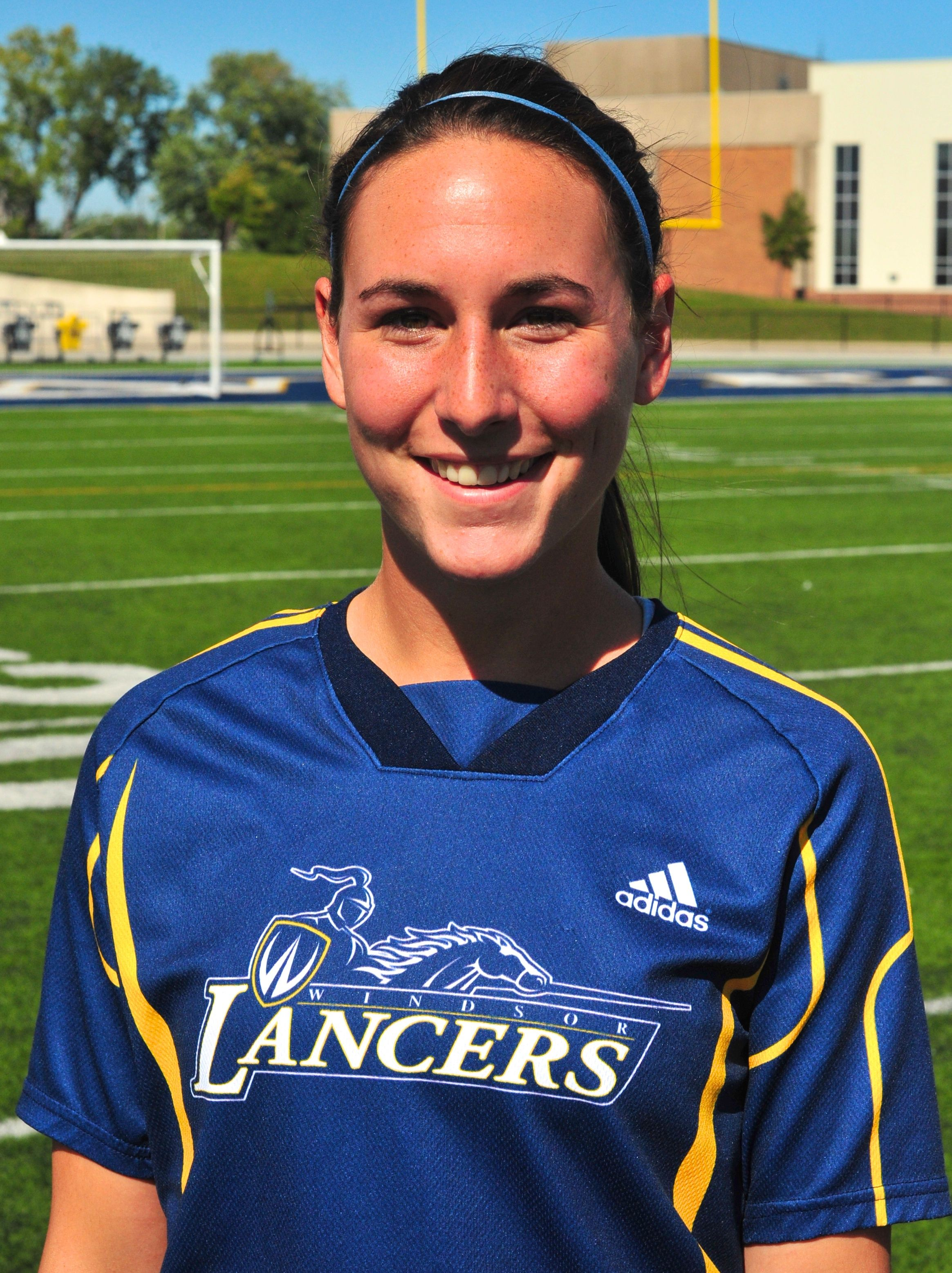 Becca Feurth - Women's Soccer - Windsor Lancers Female Athlete of the Week - September 3, 2013