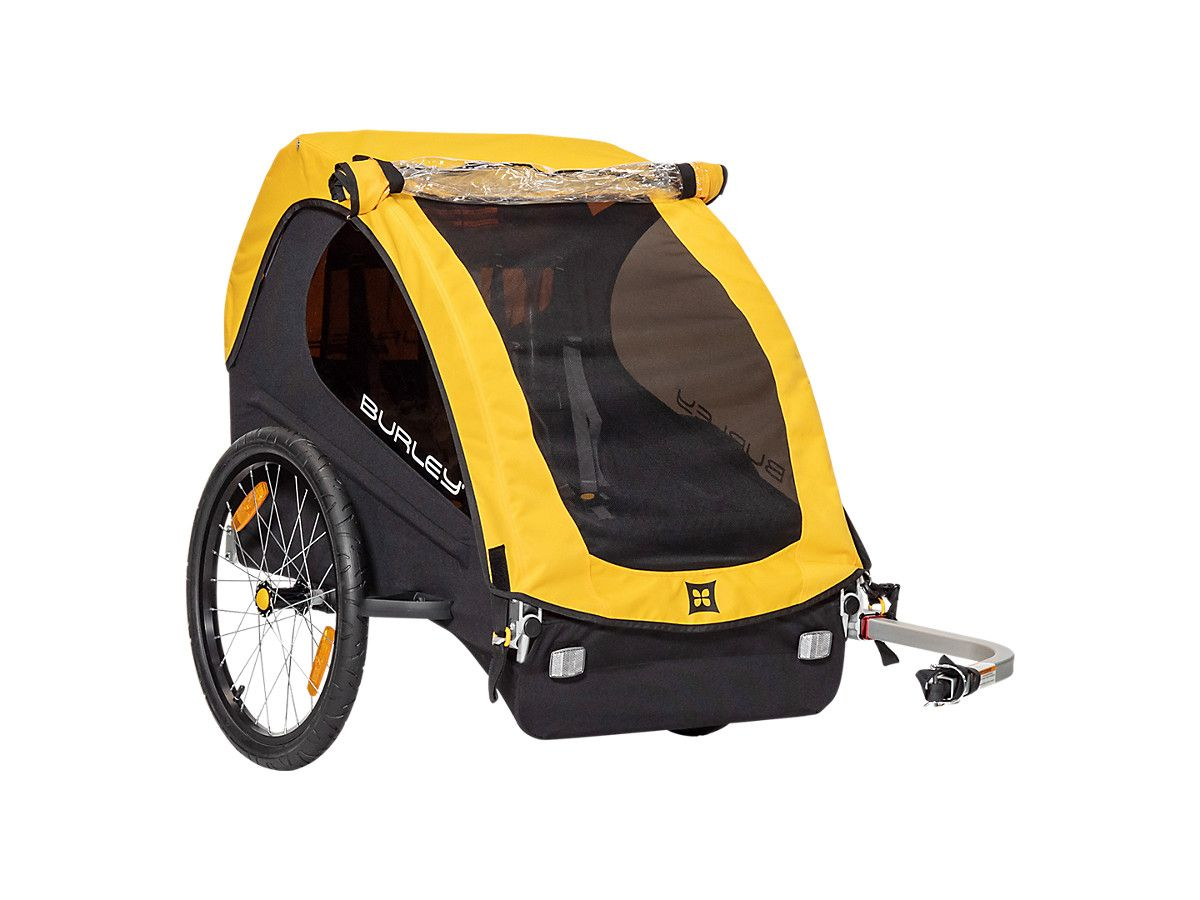 Burley Bee Kid Trailer Trek Bikes In 2020 Child Bike Trailer Kids Bike Family Bike