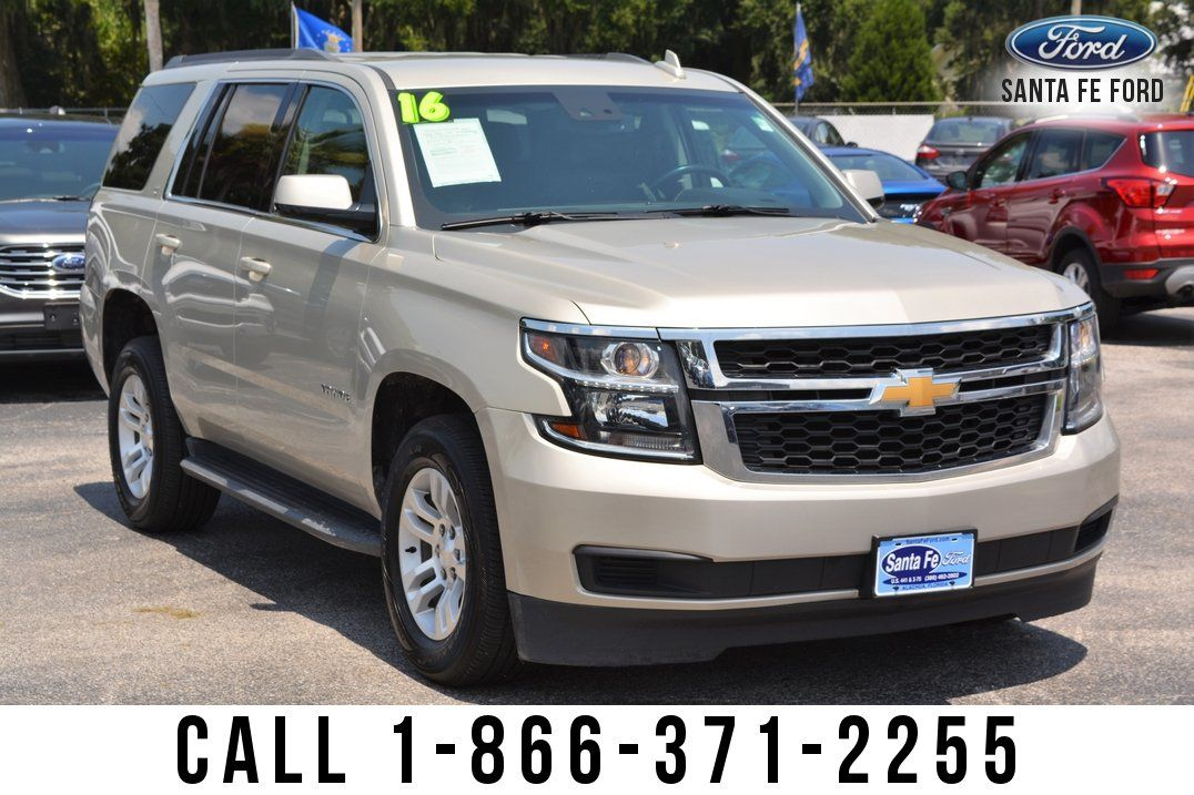 Used 2016 Chevrolet Tahoe Lt Suv For Sale Gainesville Fl 39577s