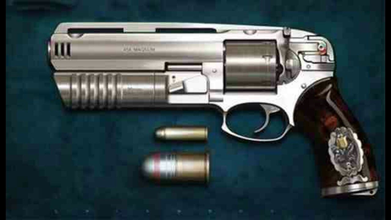 $40,000 - 454 Magnum Revolver with 30mm Grenade Launcher ...