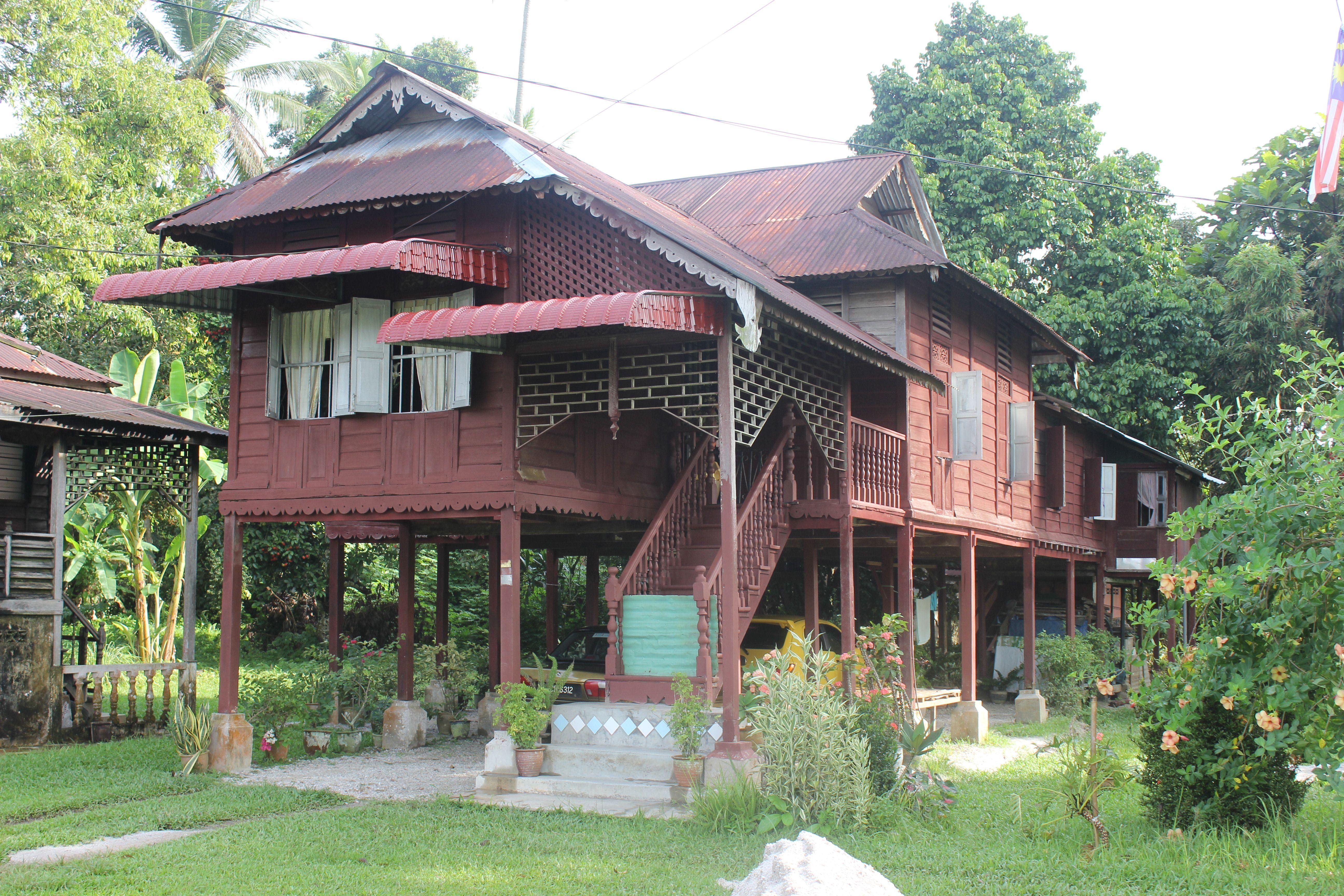 Rumah Perak Di Kampong Gajah Perak Malaysia