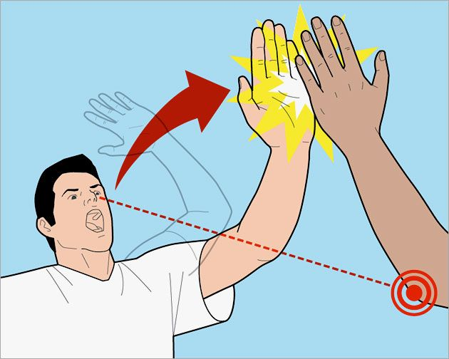 how to high five treat beach wounds use your computer remotely - Halloween Games For Groups