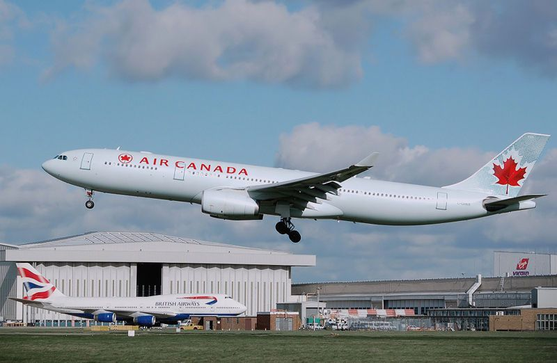 Posts From October 13 2010 On Stan M Rogers Air Canada Flights North America Continent Canada