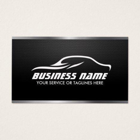 Automotive auto repair professional metal steel business card automotive auto repair professional metal steel business card reheart Choice Image