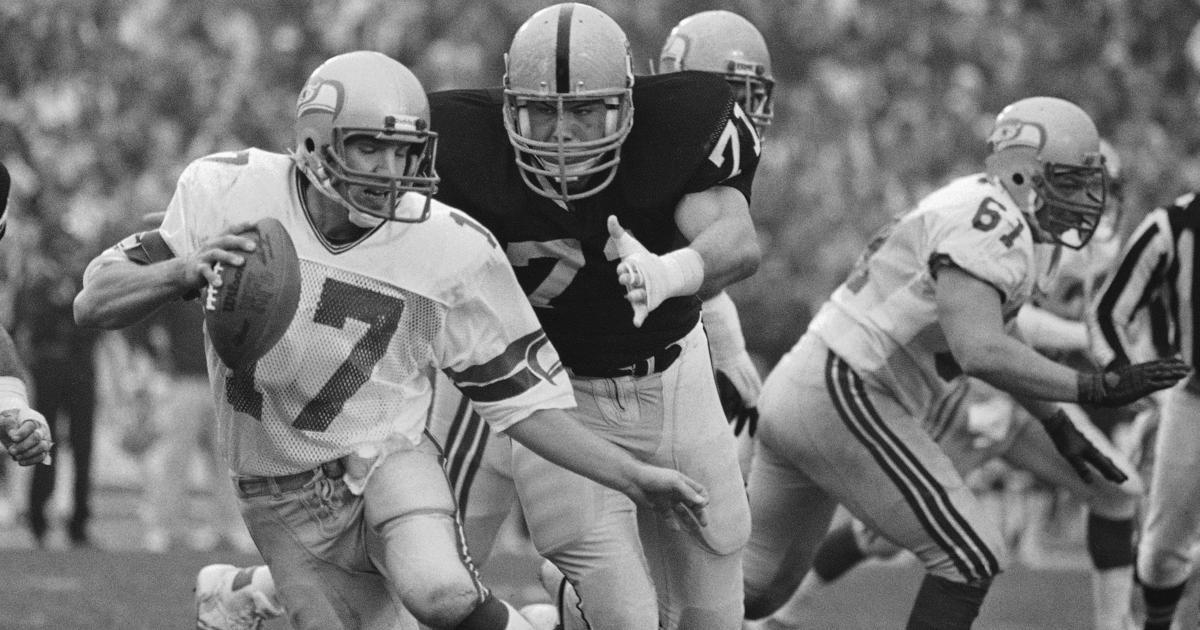 Seahawks vs Raiders Through the Years Seahawks vs