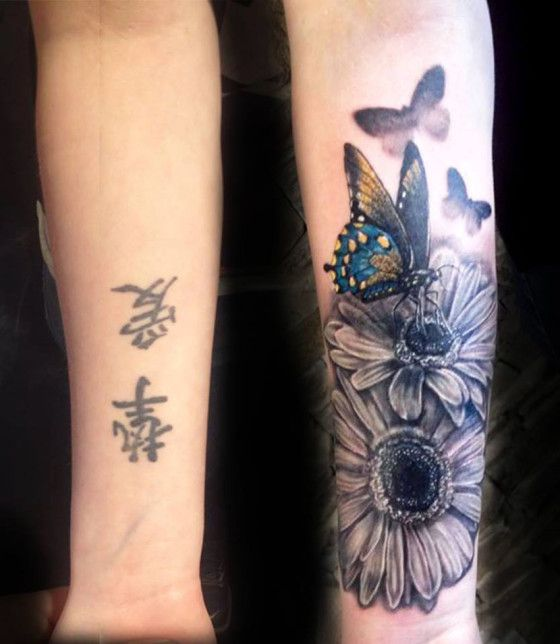 50 Cover Up Tattoos That Will Stun You Instantly Best Cover Up