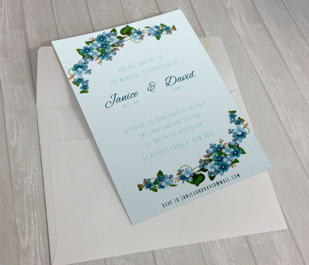 Invitations Word Template Delectable Wedding Invitation Template  Editable Wedding Template  Word .