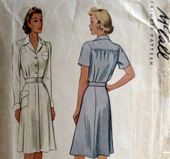 1940s style dresses patterns