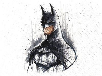 batman drawing white hd wallpaper draw people illustration