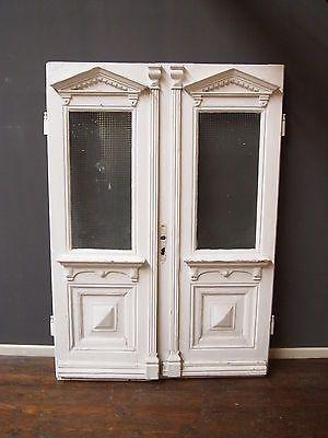 alte doppelt r 148x 210 ca 3 5 dick gr nderzeit um1900 pitch pine haust r. Black Bedroom Furniture Sets. Home Design Ideas