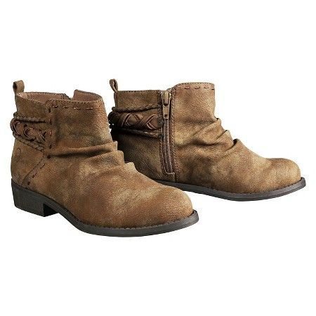 Girl's Miss Vogue® Sweet Sunset Booties - Brown