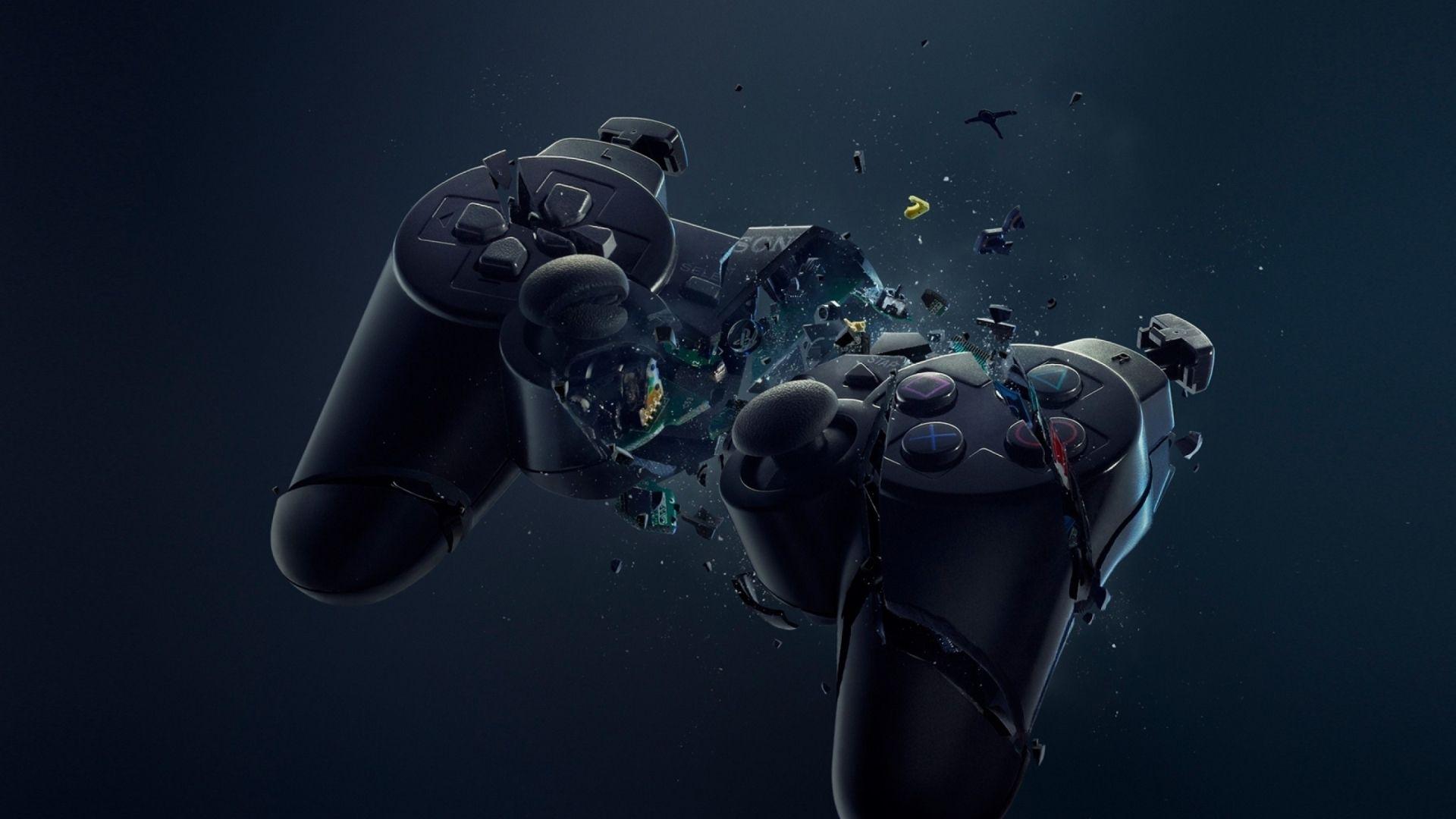 Fonds d'écran : Broken Joystick / Manette PS cassé pour Mac   Jeux, Dessins mignons et Arrière plan