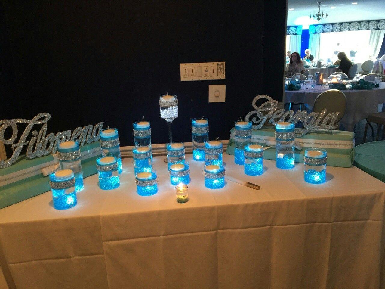 Sweet 16 Candle Lighting Ceremony Stand Designbyvirg