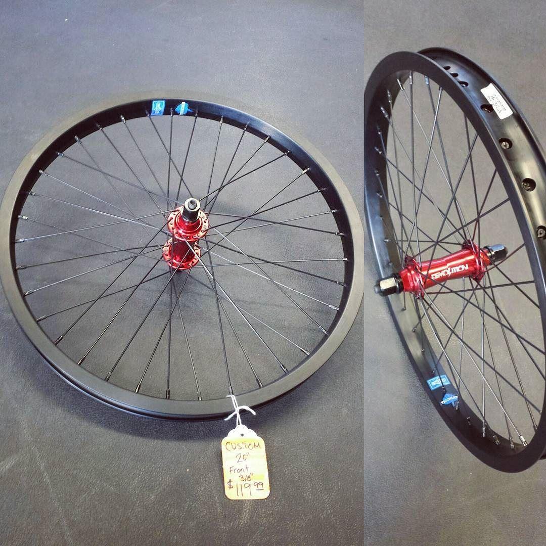 "Santa Cruz CA: Custom 20"" BMX Wheel. Demolition Front Bulimia V2 Hub Sunday Thunder Doublewall Rim & Odyssey Spokes $119.99 #PacificAveCycles #bmx #bmxlife #supportyourlocalbikeshop #santacruz #thinklocalfirst #ridebmx #custombmxwheels by pacificavecycles"