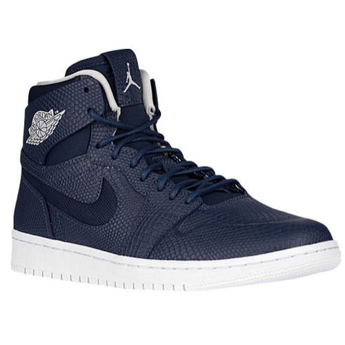 Jordan AJ 1 Retro High Nouveau - Men'sTakes the iconic style of the 1985  original and adds a free-floating collar overlay for a dose of modern  comfort.