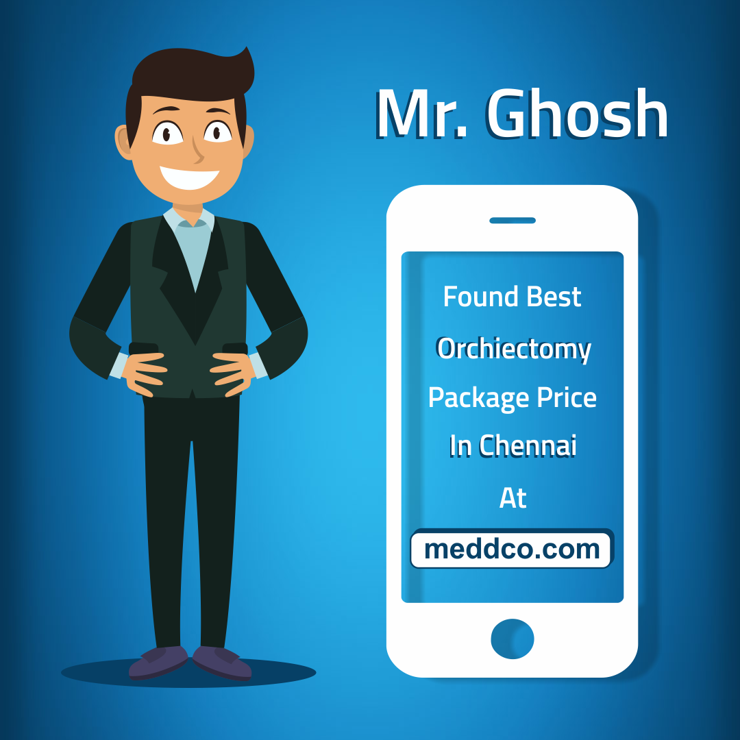 Mr. Ghosh found the right hospital with most reasonable