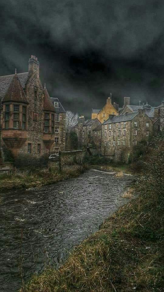 Dean Village Edinburgh Scotland #britishisles
