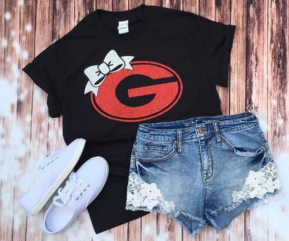 Bulldogs Shirt / Ladies Bulldogs Shirt / UGA shirt