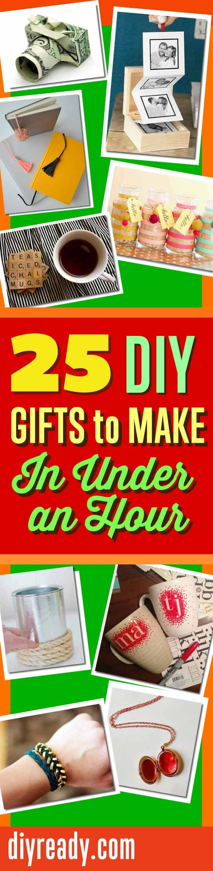 Quick Christmas Gifts | Homemade christmas gifts, Christmas gifts ...
