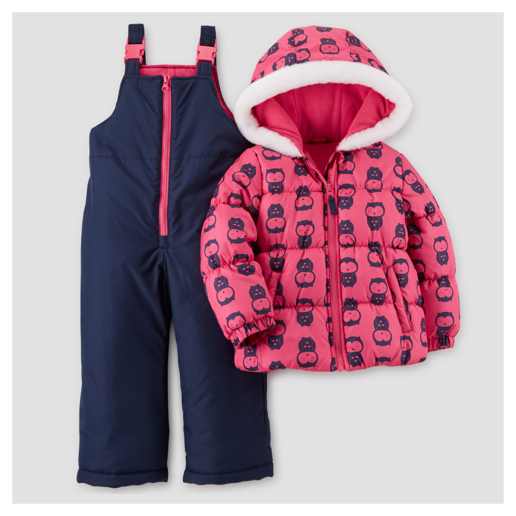 ea9f1d1bc Toddler Girls  Outerwear Set - Just One You Made by Carter s Pink ...