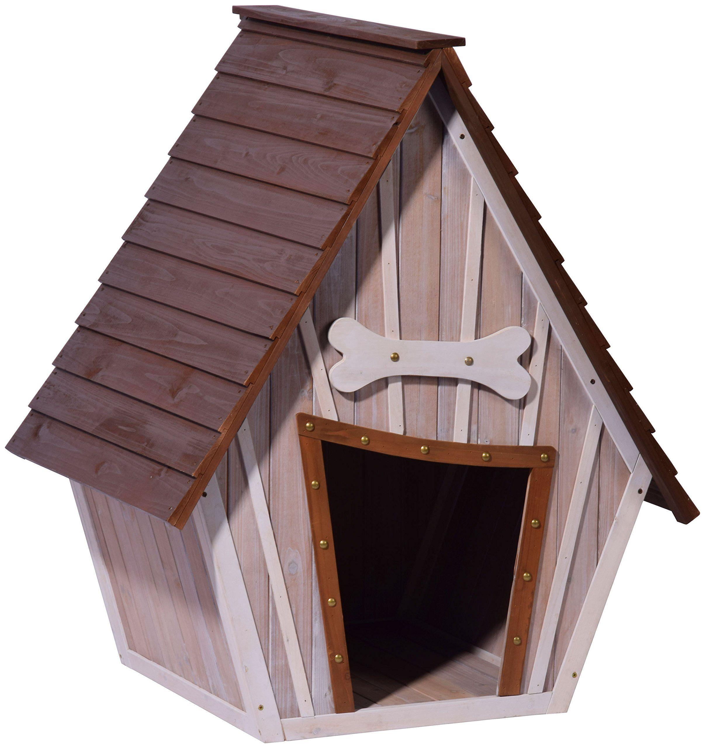 dobar 55013fsc hundehütte ,isoliertes xl outdoor hundehaus für große