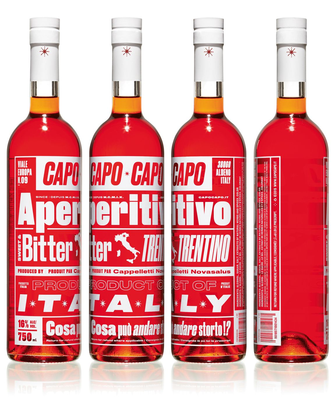 Read More Https Www Luerzersarchive Com En Magazine Print Detail Capo Capo Aperitivo 65016 Html Capo Capo Aperitivo Tags Bottle Design Bottle Vodka Bottle