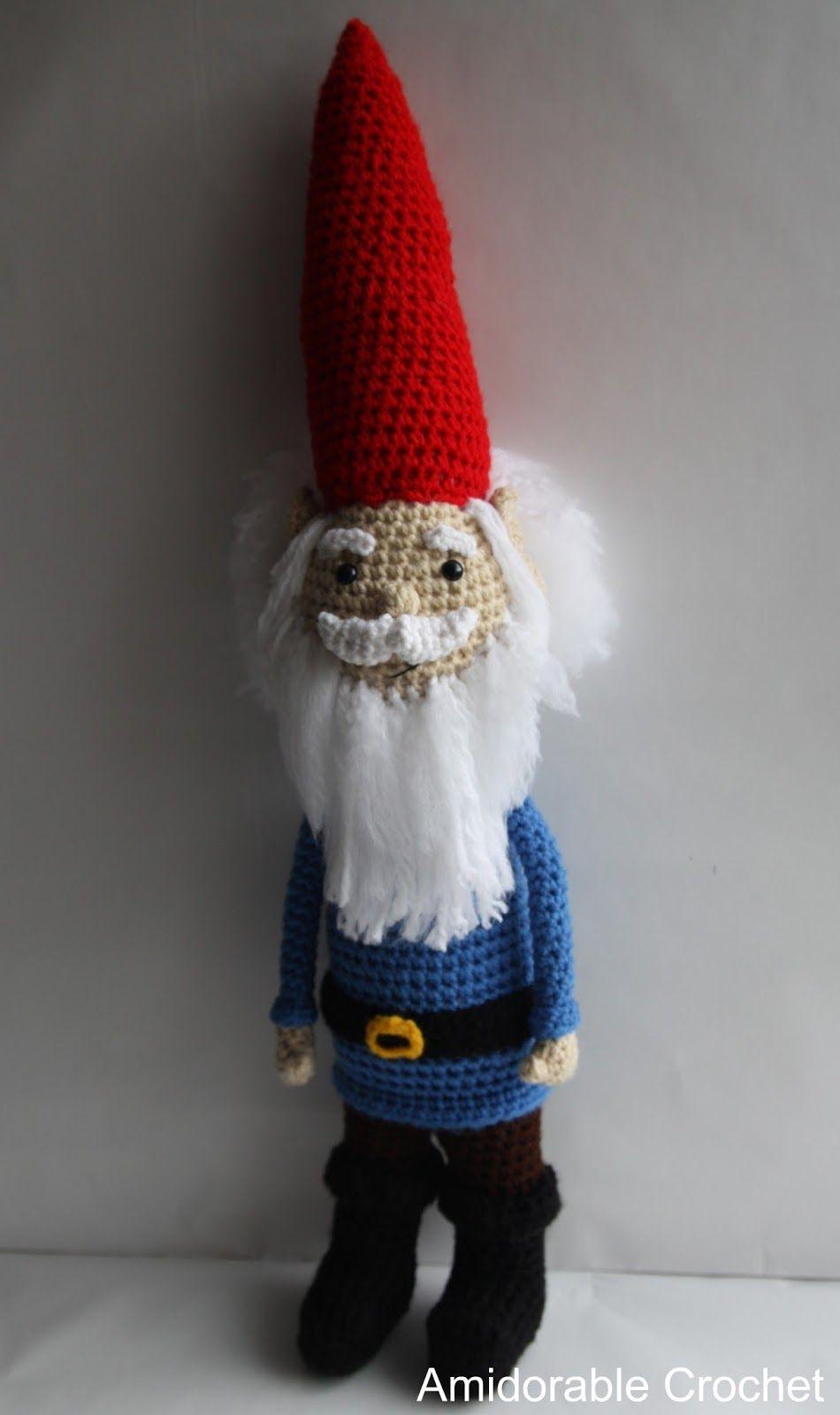 A [mi] dorable Crochet: Modelo de Gnome