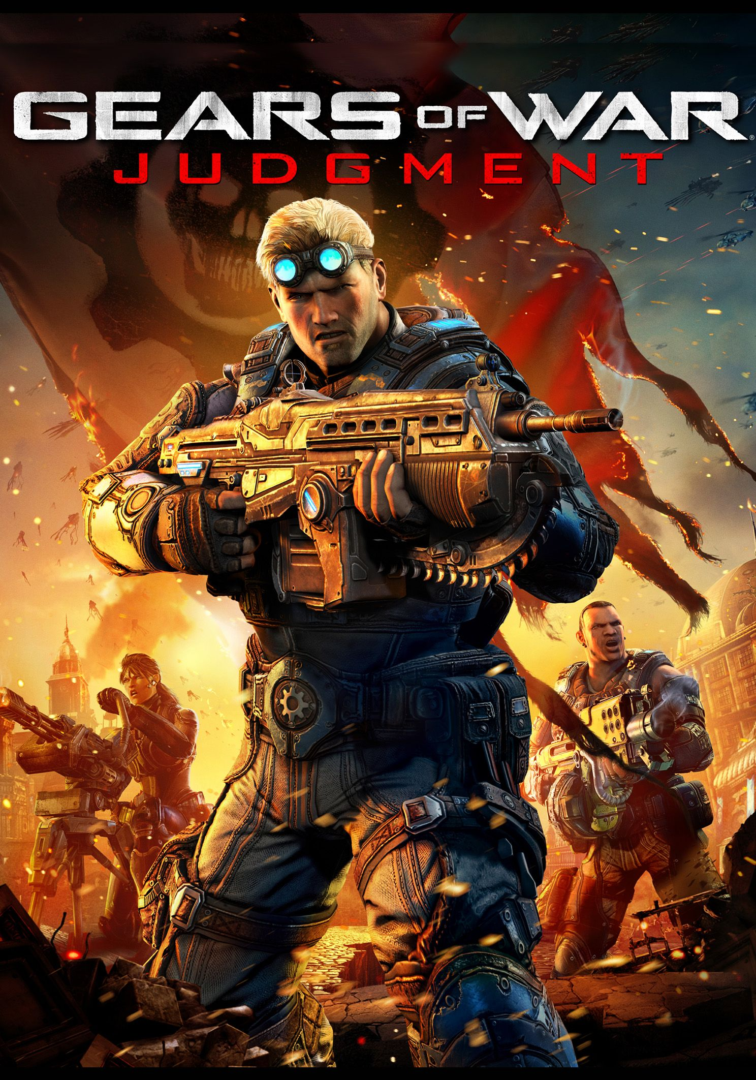 Pin By L Side Of Gaming On Game Covers Gears Of War Judgment