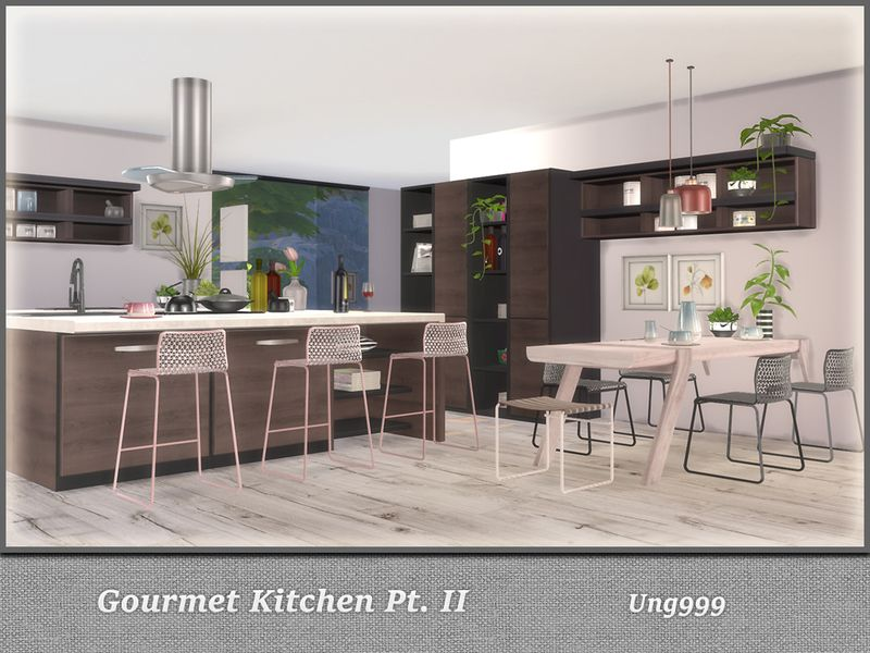 Part Two Of Gourmet Kitchen This Set Has 16 Objects Found In Tsr