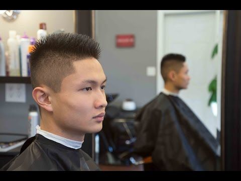 How To Fade Down The Sides And Bittomfade Haircut Long On Top 1