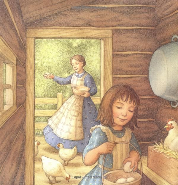 Summertime In The Big Woods Little House Picture Book Laura