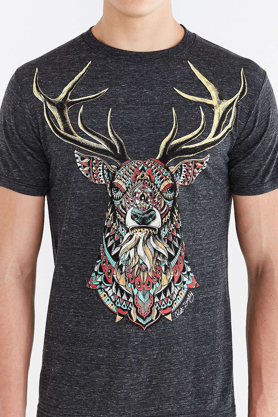 bc70ac32c Riot Society Ornate Buck Tee | Coolest Design | Urban outfitters ...