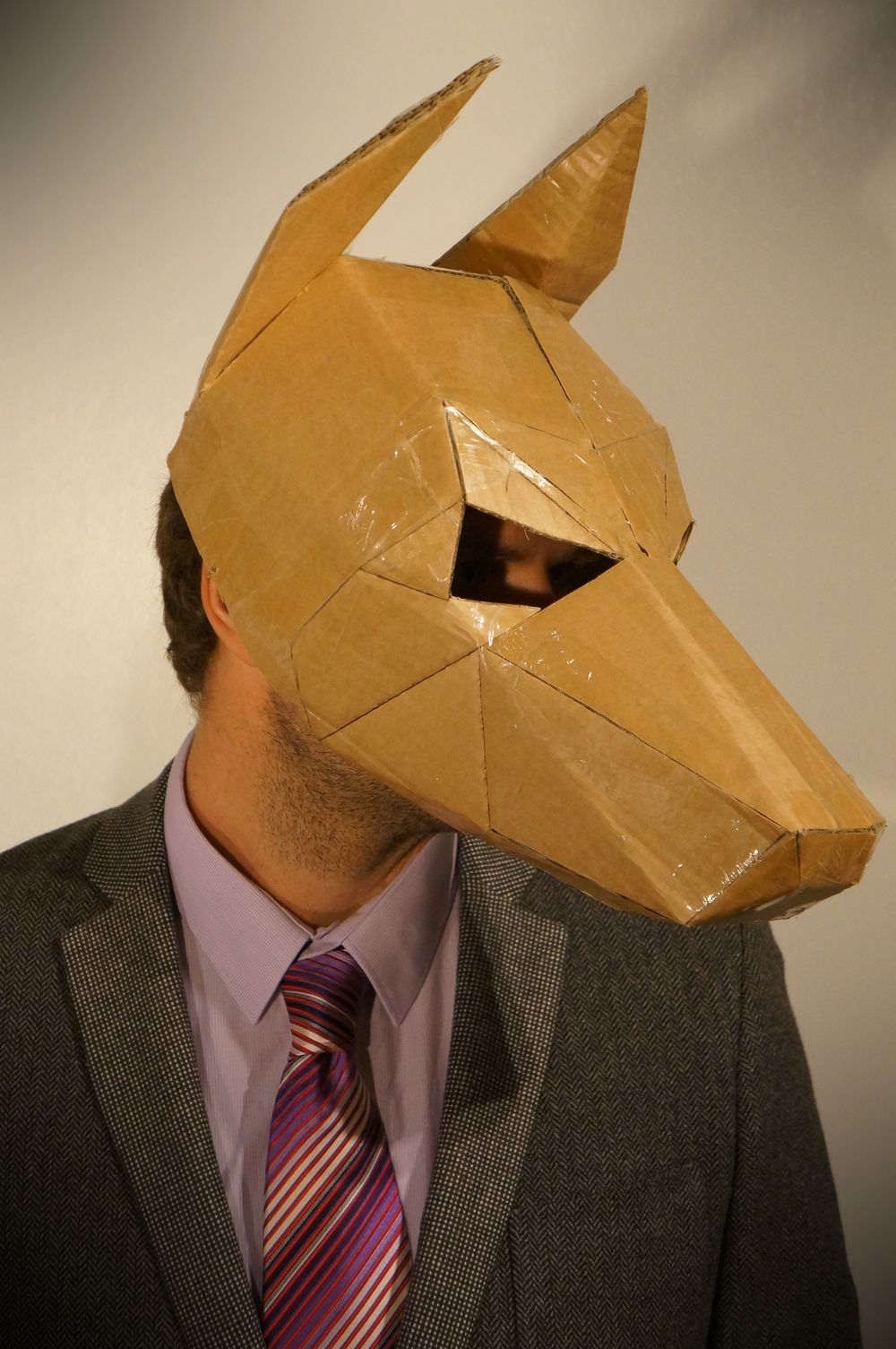 How To Make A Dog Mask Out Of Paper: Stuck For A Fancy Dress Costume? Make Your Own Dog Mask