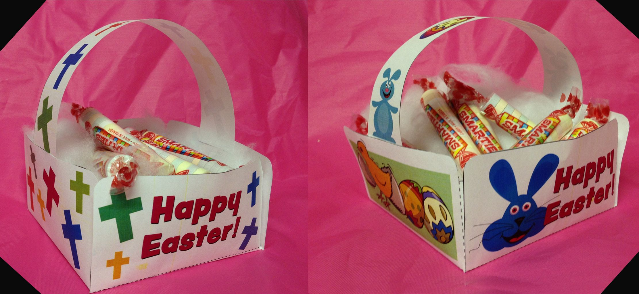 Free printable easter baskets from guildcraft arts for Guildcraft arts and crafts