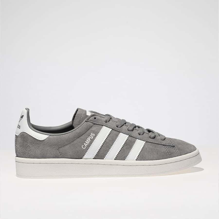 Adidas campus, Grey adidas, Suede trainers