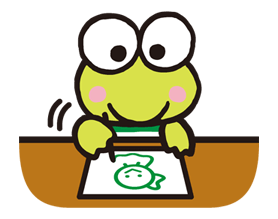 Keroppi Line Stamps Line Sticker Hello Kitty Pictures Cute Stickers