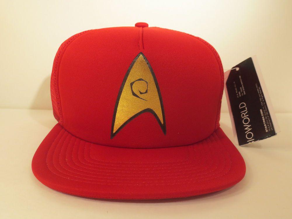 Star Trek Hat Cap Snapback Costume Cosplay Comics Mesh Trucker Hat  StarTrek   BaseballCap 95f895dacde