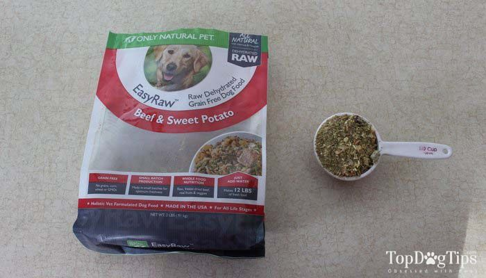Only Natural Pet Easyraw Dehydrated Dog Food Review Dog Food