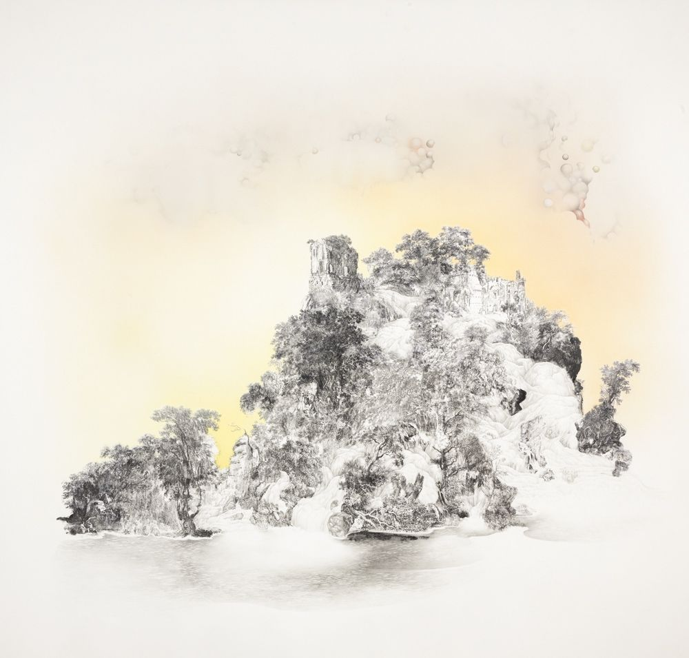 It stood, abandoned, against the skies. Anouk Mercier