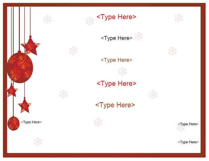 blank certificates holiday gift certificate template myawardmaker - holiday templates for word