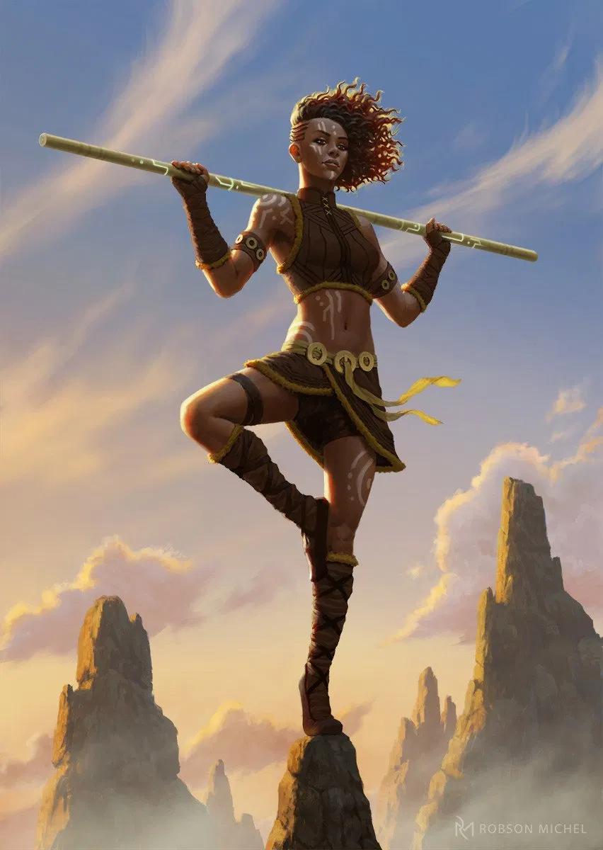 Acrobatics 101 5e D D Skills And Skill Checks Nerdarchy Dungeons And Dragons Cartoon Fantasy Art Women Character Portraits