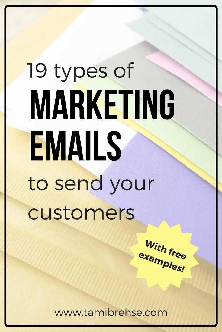 19 types of marketing emails (with examples!) to send your career objective examples for customer service excellent resume high school english teacher
