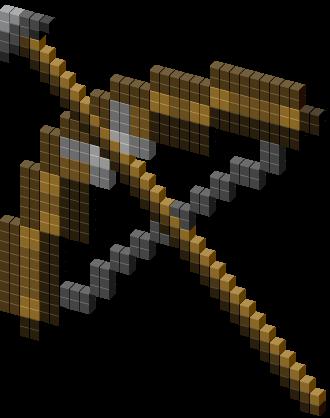 Minecraft Bow And Arrow Cursor Minecraft Bow And Arrow Minecraft Minecraft Room