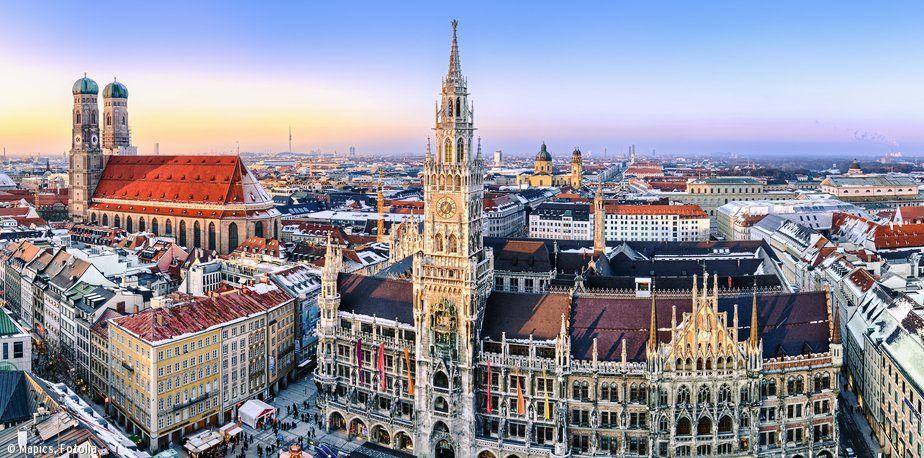 2 Nachte 125 Euro Deutschland Munchen Marienplatz Winter Munich Munich Germany European Vacation