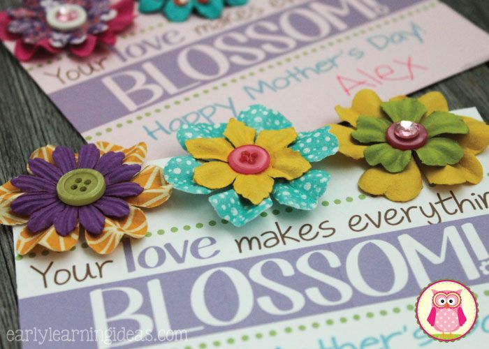 A mothers day craft and card simple gifts magnets and craft a mothers day craft and card mightylinksfo Choice Image